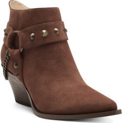 Women's Jessica Simpson Zayrie Studded Moto Bootie, Size 5.5 M - Brown found on Bargain Bro India from LinkShare USA for $138.95