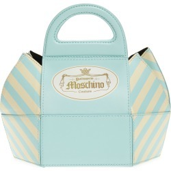 Moschino Cake Box Leather Top Handle Bag - found on Bargain Bro Philippines from Nordstrom for $1085.00