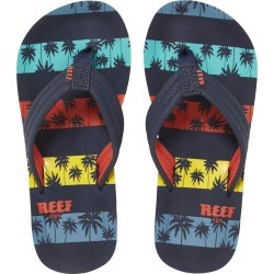 Boy's Reef Ahi Flip Flop, Size 4/5 M - Blue found on Bargain Bro from Nordstrom for USD $19.00