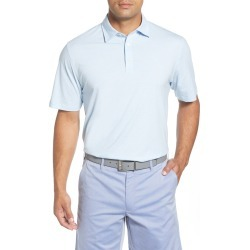 Men's Peter Millar Crown Soft Mini Stripe Jersey Polo, Size Medium - Blue found on Bargain Bro Philippines from LinkShare USA for $56.25