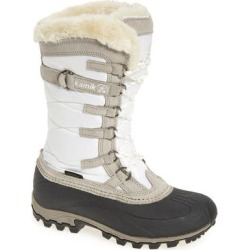 Women's Kamik Snowvalley Waterproof Boot With Faux Fur Cuff, Size 6 M - White found on MODAPINS from Nordstrom for USD $119.95
