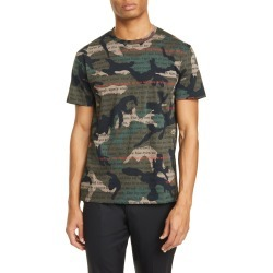 Men's Valentino Camoulove Graphic Tee, Size XX-Large - Green found on MODAPINS from Nordstrom for USD $695.00