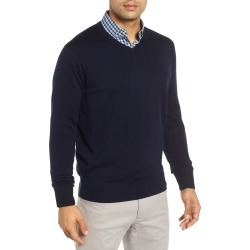Men's Peter Millar Wool & Silk V-Neck Sweater found on MODAPINS from Nordstrom for USD $123.75