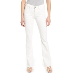 Women's Citizens Of Humanity Emannuelle High Waist Slim Leg Bootcut Jeans, Size 25 - White found on MODAPINS from Nordstrom for USD $208.00