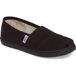 Toddler Toms 2.0 Classic Alpargata Slip-On, Size 3 M - Black