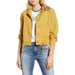 Women's Lucky Brand Femme Surplus Cotton Blend Jacket found on Bargain Bro India from LinkShare USA for $119.00