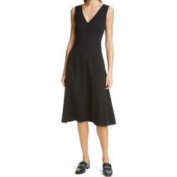 Women's Club Monaco Cross Back Sleeveless A-Line Dress, Size 6 - Black found on Bargain Bro Philippines from Nordstrom for $249.00