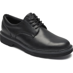 Men's Rockport Charlee Waterproof Plain Toe Derby, Size 7.5 W - Black found on Bargain Bro India from Nordstrom for $119.95
