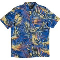 Toddler Boy's Quiksilver Tropic Button-Up Shirt, Size 3T - Blue found on Bargain Bro from Nordstrom for USD $30.40