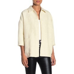 FRNCH Elbow Sleeve Front Button Jacket at Nordstrom Rack found on MODAPINS from Nordstrom Rack for USD $147.00