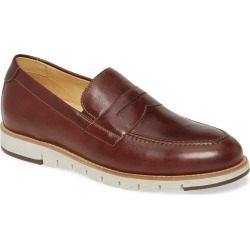 Men's Johnston & Murphy Martell Penny Loafer, Size 10.5 M - Brown found on Bargain Bro India from Nordstrom for $185.00