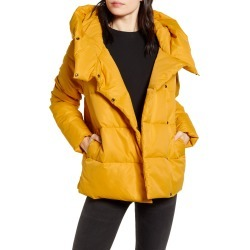 Women's Only June Puffer Jacket, Size Medium - Yellow found on Bargain Bro India from Nordstrom for $79.00