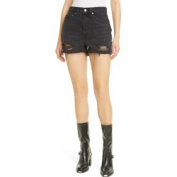 Women's Re/done '50S Cutoff Denim Shorts, Size 29Regular - Black found on Bargain Bro India from Nordstrom for $195.00