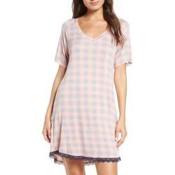 Womens Honeydew Intimates All American Sleep Shirt Size Small Pink