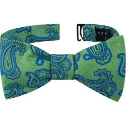 Men's Ted Baker London Paisley Silk Bow Tie, Size One Size - Green found on Bargain Bro India from Nordstrom for $59.50
