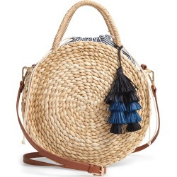 Nordstrom Joni Circular Raffia Tote - Brown found on Bargain Bro India from Nordstrom for $79.00