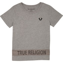 Toddler Boy's True Religion Brand Jeans High/low T-Shirt, Size 4T - Grey found on Bargain Bro Philippines from Nordstrom for $40.00