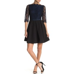 FRNCH Lace 3/4 Sleeve Dress at Nordstrom Rack found on MODAPINS from Nordstrom Rack for USD $135.00