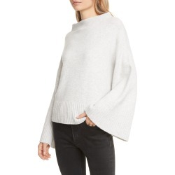 Women's Club Monaco Bell Sleeve Wool Blend Sweater, Size Medium - Grey found on Bargain Bro Philippines from Nordstrom for $79.98