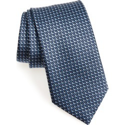 Men's Brioni Geometric Silk Tie, Size Regular - Blue found on MODAPINS from LinkShare USA for USD $112.50