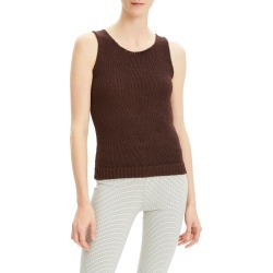 Women's Theory Sleeveless Sweater, Size Large - Brown found on MODAPINS from Nordstrom for USD $93.60