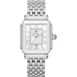 Women's Michele Deco Madison Diamond Dial Watch Head & Bracelet, 33mm found on Bargain Bro India from LinkShare USA for $1195.00