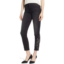 Women's Jen7 By 7 For All Mankind Embroidered Ankle Skinny Jeans found on MODAPINS from Nordstrom for USD $110.00