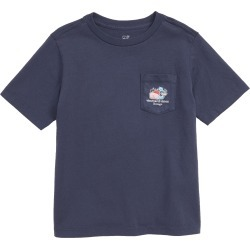 Toddler Boy's Vineyard Vines Chicago Whale Pocket T-Shirt, Size 3T - Blue found on Bargain Bro India from Nordstrom for $29.50