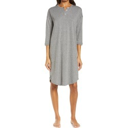 Women's Papinelle Unwind Nightgown, Size X-Small - Grey found on MODAPINS from Nordstrom for USD $49.00