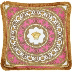 Versace I Heart Baroque Silk Accent Pillow, Size One Size - Pink found on MODAPINS from Nordstrom for USD $395.00