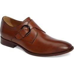 Men's Johnston & Murphy Mcclain Monk Strap Shoe, Size 8.5 M - Brown found on Bargain Bro India from Nordstrom for $169.00
