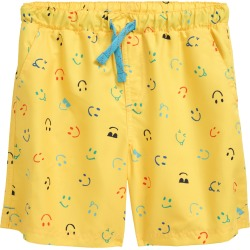Boy's Tucker + Tate Printed Tie Waist Swim Trunks, Size 6 - Yellow found on Bargain Bro India from Nordstrom for $29.00