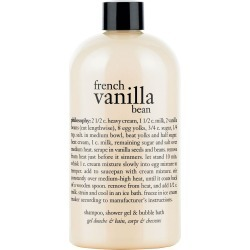 Philosophy French Vanilla Bean Shampoo, Shower Gel & Bubble Bath, Size 16 oz