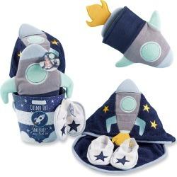 Infant Boy's Baby Aspen Cosmo Tot 4-Piece Bath Gift Set
