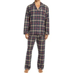 Men's Majestic International Flannel Pajamas, Size X-Large - Green found on MODAPINS from Nordstrom for USD $80.00