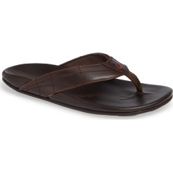 Men's Olukai Hokule'A Kia Flip Flop, Size 14 M - Brown found on Bargain Bro India from LinkShare USA for $125.00