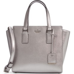 Kate Spade New York Cameron Street - Small Hayden Metallic Leather Satchel - Metallic found on Bargain Bro India from Nordstrom for $199.66