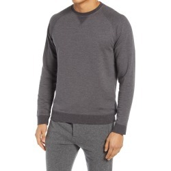 Men's Vince Slim Fit Crewneck Sweater, Size Large - Grey found on Bargain Bro from Nordstrom for USD $201.40