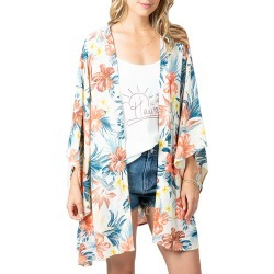 Women's Rip Curl Anini Floral Duster, Size X-Small - White found on MODAPINS from Nordstrom for USD $54.95