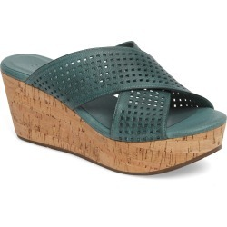 Women's Chocolat Blu Wamblee Wedge Sandal, Size 6 M - Blue/green found on MODAPINS from Nordstrom for USD $129.95