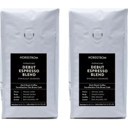 Nordstrom Ethically Sourced Debut Espresso Blend 2-Pack Whole Bean Coffee found on Bargain Bro from Nordstrom for USD $21.20