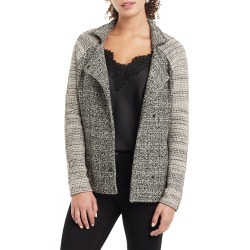 Petite Women's Nic+Zoe Mixing In Jacket, Size Large - Grey found on Bargain Bro from Nordstrom for USD $85.73