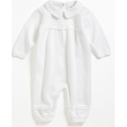 Infant Boy's Little Things Mean A Lot Knit Romper, Size 6M - White found on Bargain Bro Philippines from Nordstrom for $118.00