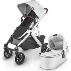 Infant Uppababy Vista V2 Stroller With Bassinet & Toddler Seat