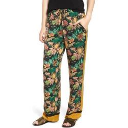 Women's Scotch & Soda Jungle Print Stripe Wide Leg Pants