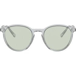 Men's Prada Phantos 51mm Photochromic Round Sunglasses - Gry Crystal Photo Green found on Bargain Bro from Nordstrom for USD $264.48