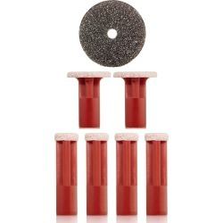 Pmd Red Coarse Replacement Discs found on Bargain Bro India from Nordstrom for $20.00