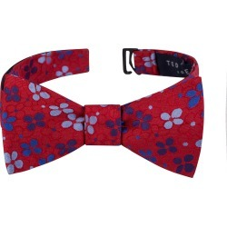 Men's Ted Baker London Flower Dot Silk Bow Tie, Size One Size - Red found on Bargain Bro India from Nordstrom for $59.50
