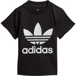 Toddler Boy's Adidas Kids' Trefoil Graphic Tee, Size 4T - Black found on Bargain Bro Philippines from Nordstrom for $20.00