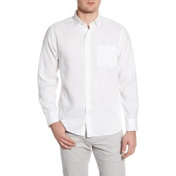 Men's Tommy Bahama Costa Capri Classic Fit Linen Blend Button-Up Shirt, Size Large - White found on Bargain Bro India from Nordstrom for $125.00